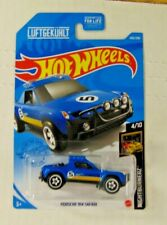 2020 Hot Wheels #242 Nightburnerz Porsche 914 Safari blue Game Stop Exclusive