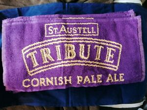 St Austell TRIBUTE Bar Towel. New ideal ManCave home bar shed playroom. RARE
