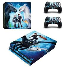 How to Train Your Dragon 3 PS4 Pro Consoles Controllers Vinyl Skin Decal Sticker