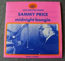 Sammy Price, midnight boogie, LP - 33 tours