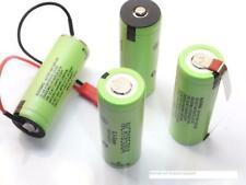 1 batteria 18500A panasonic 2040 mAh flat/tabs/pin/terminal scegli