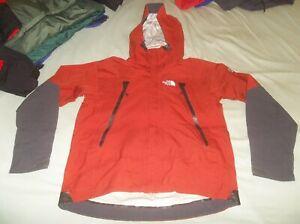The North Face Gore-tex L5 Parka Coat Jacket Medium TNF Brick Red Alpine Shell