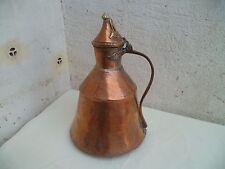 Art populaire grand pot en cuivre pour cuisine époque XVIII XIXème siècle