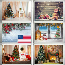 Portable Print Christmas Photography Background Backdrop Party Games&Activitiy✔