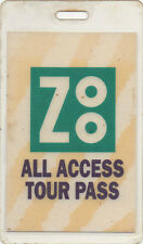 """Zoo Entertainment """"Master"""" All Access Backstage Pass (Tool Green Jello)"""