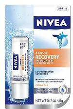 NIVEA A Kiss Of Recovery Medicated Lip Repair SPF 15 0.17 oz Each