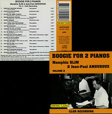 MEMPHIS SLIM & JP AMOUROUX  boogie for 2 pianos