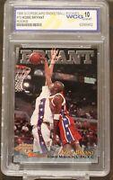1996 97 Kobe Bryant Lakers The Score Board #15 Rookie Card WCG Grade 10 GEM MINT