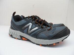 New Balance Men's 412 Trail Running Shoes MTE412L3 Gray/Orange Size 12D