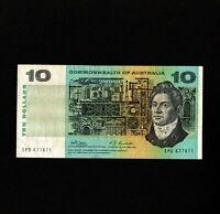 Australia $10 TEN DOLLAR Commonwealth Banknote Signatures Phillips Randall R303