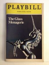 Playbill The Glass Menagerie at Eugene O'Neill Theatre November 1983!