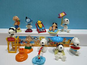 Komplettsatz Peanuts am Strand Japan 2002 + alle 10 Bpz  100% Original