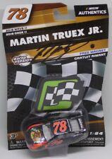 2018 NASCAR AUTHENTICS Wave 11 Martin Truex Jr signed Auto Club Win 1/64 Diecast