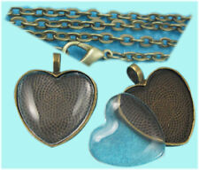 Glass Bronze Handcrafted Necklaces & Pendants