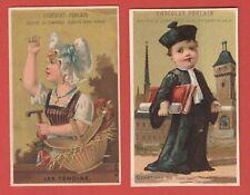 Ancienne Chromo Image 1900 Chocolat Poulain