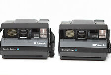 Lot of 2 Vintage Polaroid Spectra System SE Film Camera For Parts or Repair
