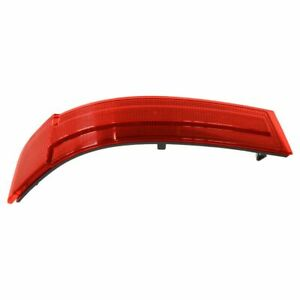 OEM Bumper Mounted Red Reflector Lens Rear Driver Side LH for Mercedes Benz New
