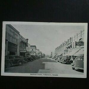1948 CEDARTOWN, GA * DOWNTOWN BUSINESS CENTER * POSTED CEDARTOWN