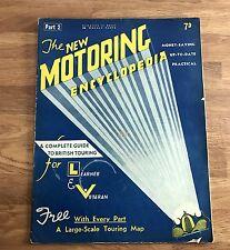 Vintage Art Deco Era 1930's New Motoring Encyclopedia Issue 2 October 1936