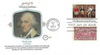 "U.S. 1977 ""VICTORY AT SARATOGA"" #1728 w/ #644 on a Fleetwood DUAL FDC Cachet @@"