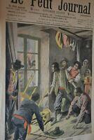 Amérique Le péril jaune / Le petit journal sup illustré N° 896 / 19 janvier 1908