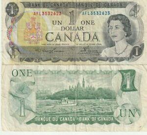 CANADA  $1 DOLLAR 1973 GREAT CONDITION BANKNOTES