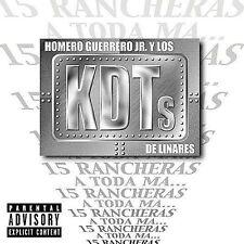 15 Rancheras a Toda Ma... [PA] by Homero Guerrero, Jr. (CD, Aug-2002, Disa)