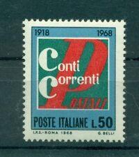 Italia Repubblica 1968 - B.1201 - Conti Correnti