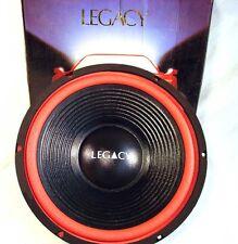 "NOS Legacy LW1230P 12"" Car Subwoofer Speaker 150W 4 ohm Poly Cone 65oz Magnet"