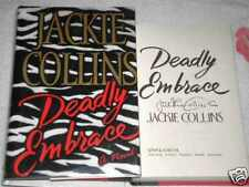 DEADLY EMBRACE by JACKIE COLLINS **SIGNED**