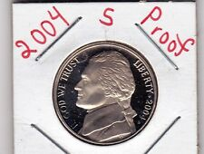 2004  S  Jefferson nickel in PROOF condition