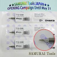Made in JAPAN 3pcs HAKKO T20-BL2 Lead-free Soldering tips Replace