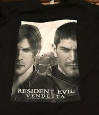 LE SDCC Comic Con Resident Evil: Vendetta T-Shirt Large HARD TO FIND **NEW**