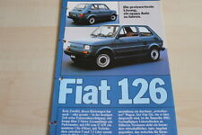 105550) Fiat 126 Prospekt 198?