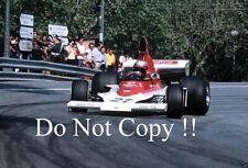 Mario Andretti Parnelli VPJ4 Spanish Grand Prix 1975 Photograph