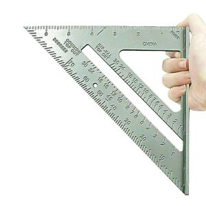 """Roofing Roofer Square 7"""" Aluminium Carpenters Wood Working 7 Inch Alloy Tool UK"""