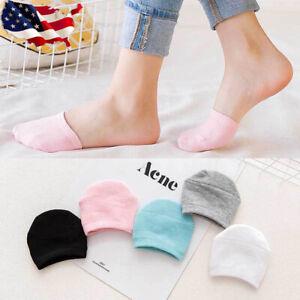 10 Pairs Women Non Slip High Heels Sandal Invisible Half Footie Cotton Socks USA
