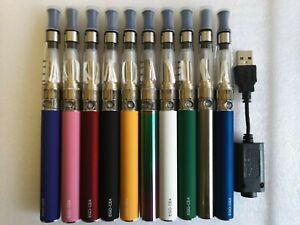 E cig cigarette ce4 eGo-T shisha 1100mAh battery vape pen charger atomiser kit
