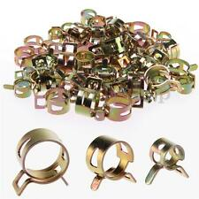 80pcs 5-14mm Spring Clip Fuel Oil Water Hose Pipe Tube Clamp Fastener Kit Pack