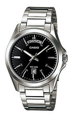 Casio MTP1370D-1A1 Men's Standard Analog Stainless Steel Classic Day Date Watch