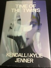 Kendall And Kylie Jenner Time Of The Twins Hardcover Signed Book Autograph Beautiful In Colour Entertainment Memorabilia Autographs-original