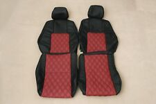 Custom Made Prelude 1997-2001 BB6 BB8 Real leather seat covers Front Only