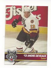 2006-07 Chicago Wolves (AHL) Andre Deveaux (Sheffield Steelers)