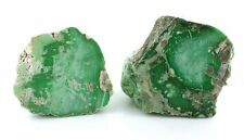 525 Gram 2 Piece Natural  Variscite Alluvial Rough Gem Gemstone Cab Cabochon VR8