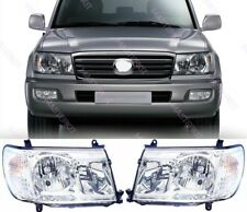Headlights for Toyota LAND CRUISER 100 Set L + R XENON with corrector 06-07