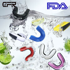 Cfr Senior Teeth Protector Mouth Guard Piece Boxing Basketball Gym Gum Sheild