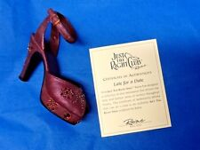 Nib Just the Right Shoe ~ Raine Willits #25065 Late for a Date