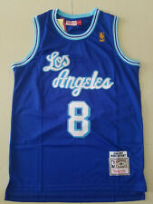NWT Kobe Bryant #8 Los Angeles Lakers Classic Blue Stitched Basketball Jersey