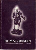 Heimat-Museen des Bezirkes Karl-Marx-Stadt/Chemnitz/Aue/Augustusburg/Plauen/ ...