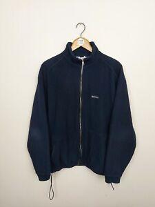 KARRIMOR Western Isles Vintage Full Zip Fleece - Large - Navy Blue